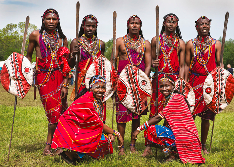 Kenyan People And Culture Maasai Tribe, People, ...