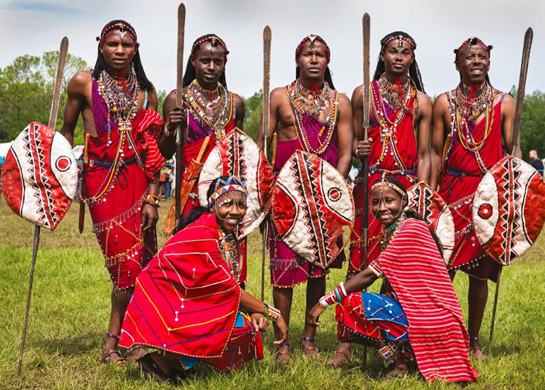 Maasai Culture People Photo