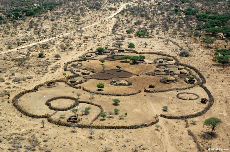 Maasai Shelter Photo