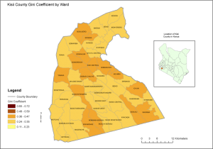 Kisii County Map