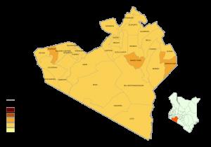 Narok County Map