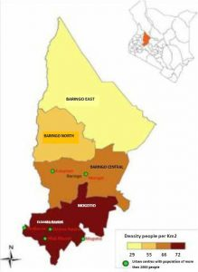 Baringo County Map