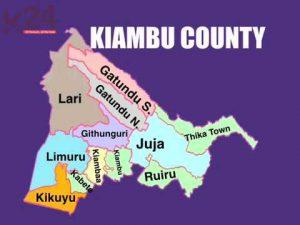 Kiambu County Map