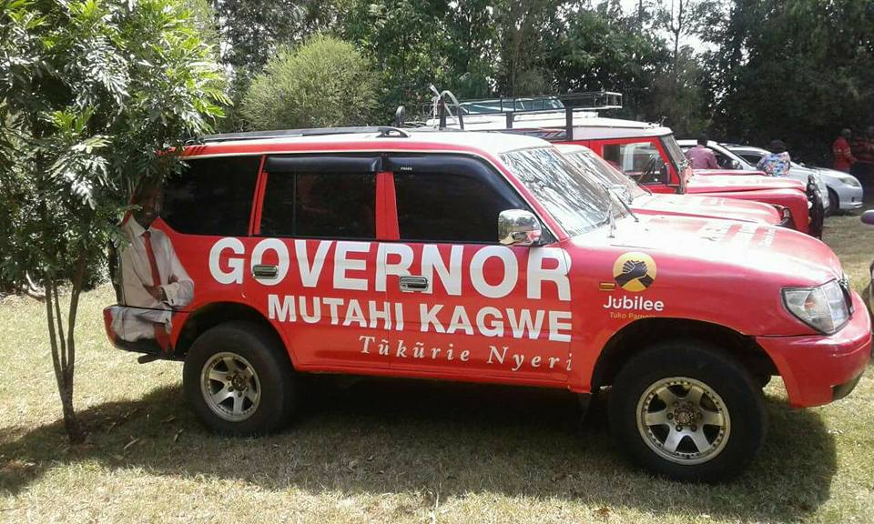 Muthahi Kagwe Governor Nyeri County