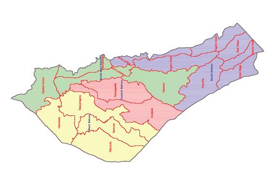 Awedo Constituency Map