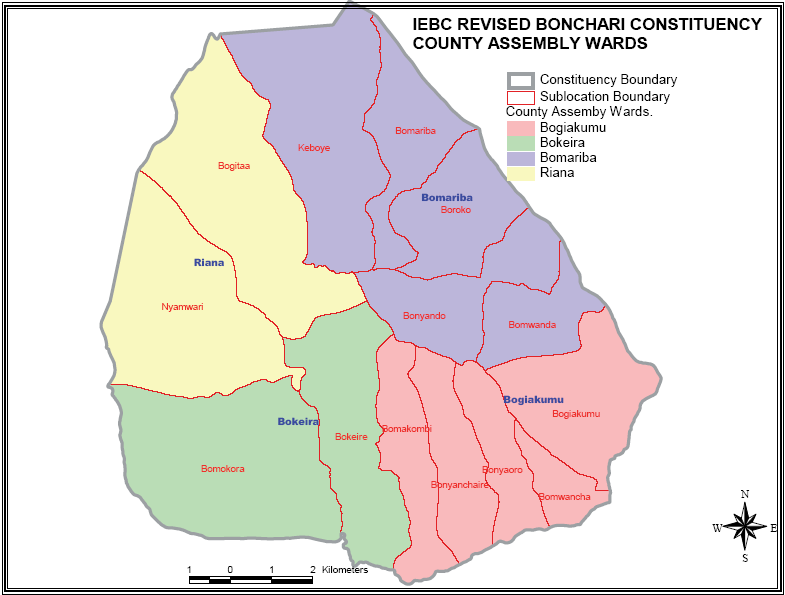 Bonchari Constituency Map