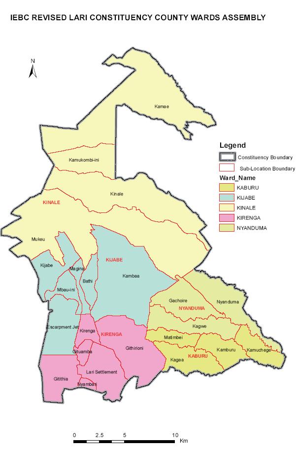 Lari Constituency Map