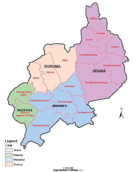 Rabai Constituency Map
