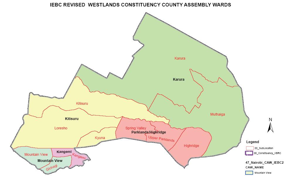 Westlands Constituency
