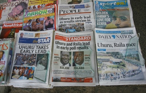 Kenya Newspapers - Kenyan Newspapers - Newspapers in Kenya