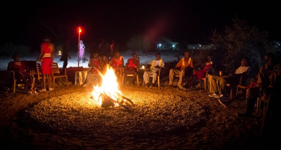 Star Gazing - Night Bonfire With Nyama Choma