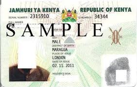 Kenyan ID card photo