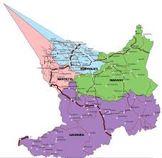 Embu County Map