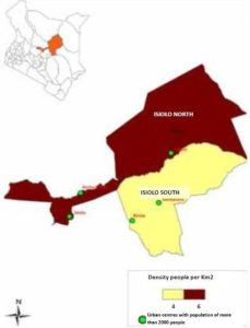 Isiolo County Map