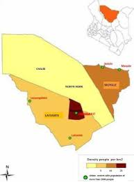 Marsabit County Map