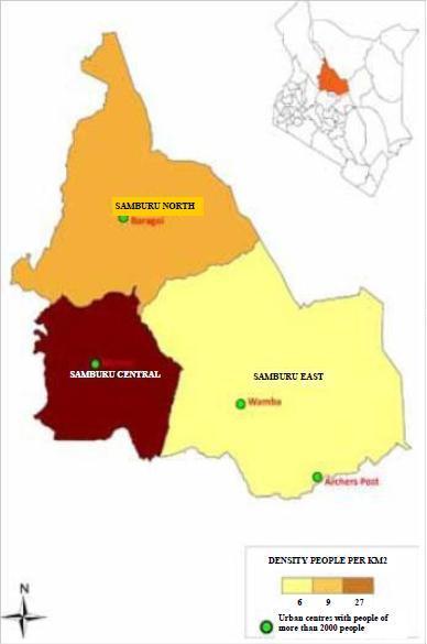 Samburu County Map