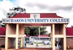 Machakos University College Courses Offered