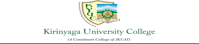 Kirinyaga University Courses