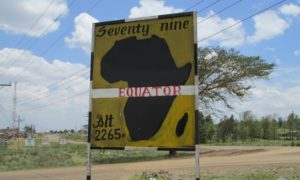 The Equator in Kenya