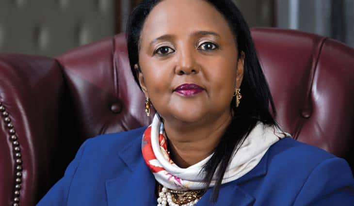 Sports CS Amina Mohamed
