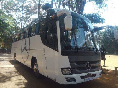 Maseno School Bus when it was new