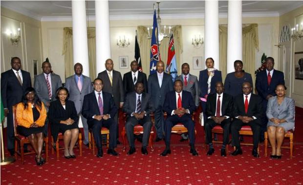 Ministries in Kenya and Cabinet Secretaries in Kenya