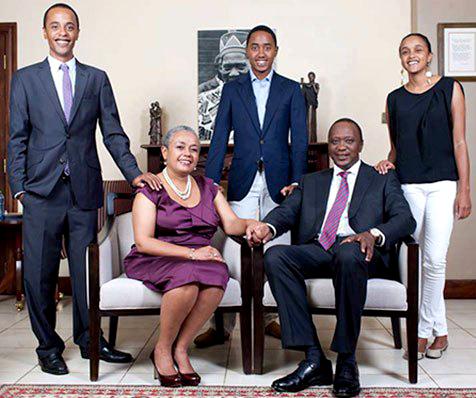 Uhuru Kenyatta Children