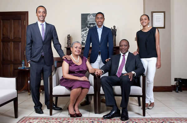 Uhuru Kenyatta Family