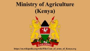 The Ministry of Agriculture, Livestock, and Fisheries