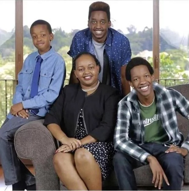 Anne Waiguru Children