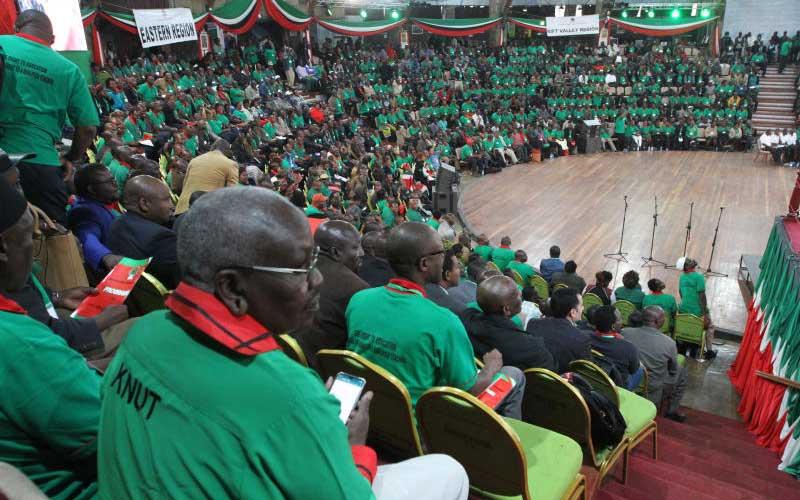 Image result for KNUT - Kenya National Union of Teachers