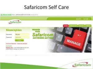 Safaricom Selfcare
