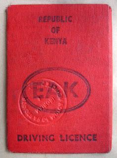 Driving Licence Renewal Kenya
