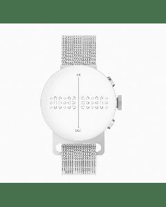 DOT Braille Watch - Silver