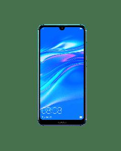 HUAWEI Y7 2019 - 32GB ROM -3GB RAM-Blue + Free 1000 Airtime