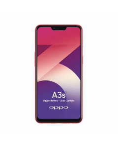 """Oppo A3S – 6.2"""" – 16GB ROM - 2GB RAM – Red + 500Mbs"""