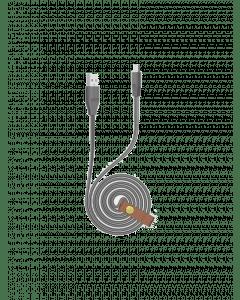 USB Cable - Oraimo CD C3AR 2A 1m - Black