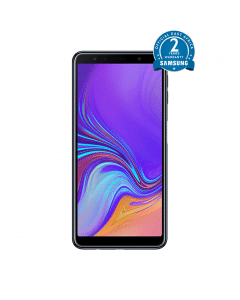 """Samsung Galaxy A7 2018 - 6""""- 64GB ROM - 4GB RAM + Free 1Gb Bundle"""