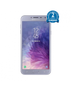 "Samsung Galaxy J4 - 5.5"" -16GB ROM - 2GB RAM -13MP - Violet+ 1Gb Bundle"