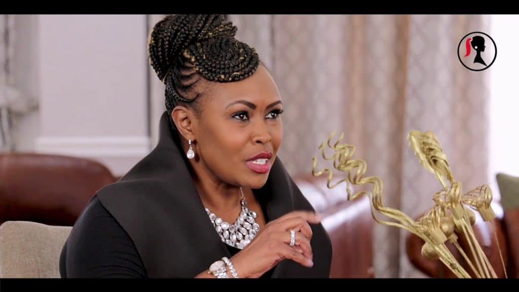 Caroline Mutoko Hairstyle