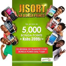 Safaricom Bonga Points Phones and Cash