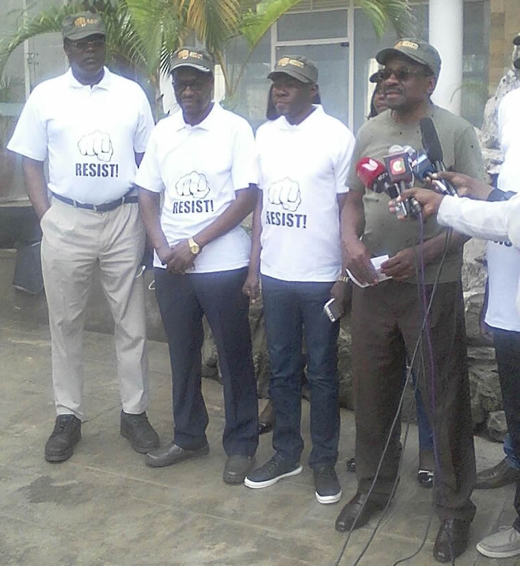 Miguna joins NASA's resistance movement