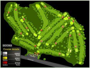 Sigona Golf Club The Course