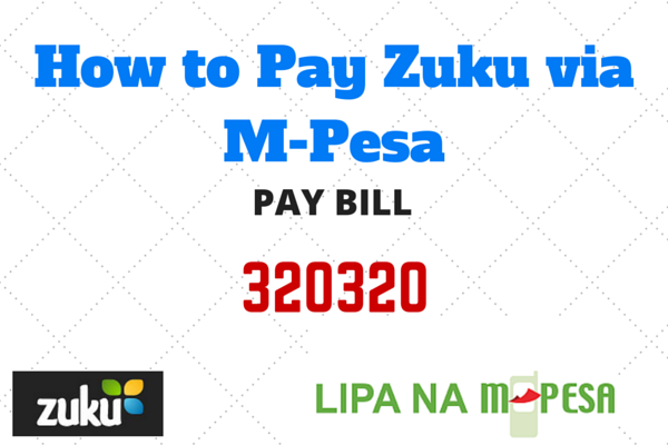 Zuku Paybill Number Photo