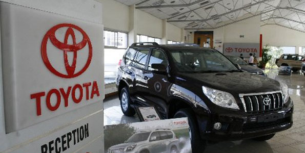 Toyota Kenya Contacts