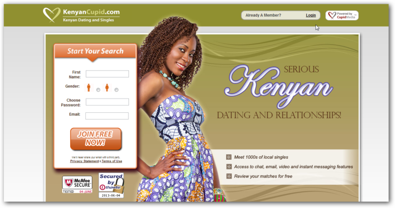 dating sites for singles in kenya