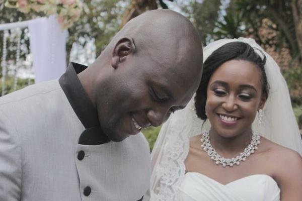 Betty Kyalo and Dennis Okari Wedding