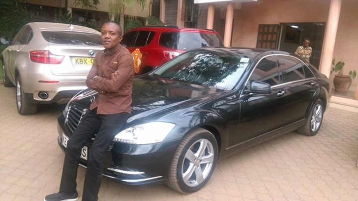 Maina Kageni's cars