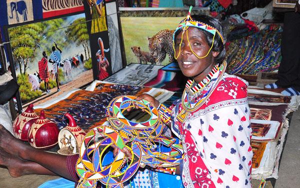 Places to Visit in Nairobi - Maasai Market