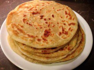Kenyan Food - Chapati